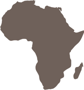 png library library Africa clipart. Map clip art vector