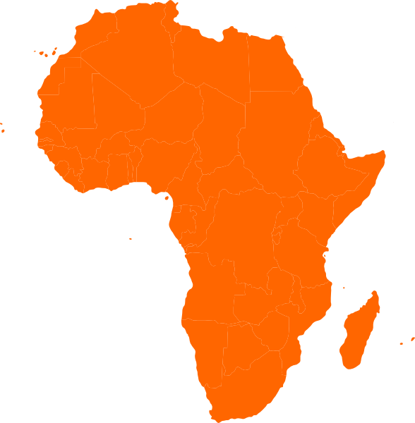 clip freeuse African clipart. Africa map continent clip