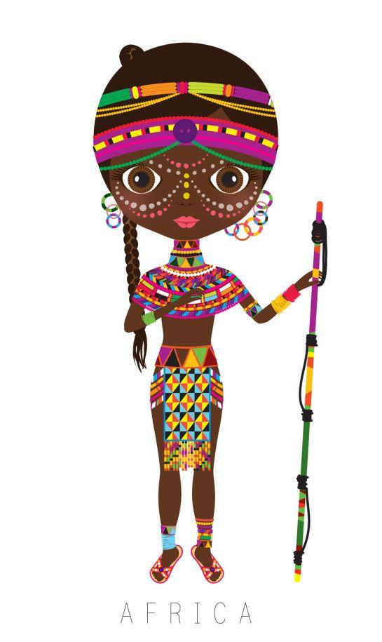 png free Africa clipart artistic. Mu ecas del mundo