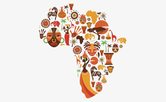 vector Africa clipart creative. Transparent free