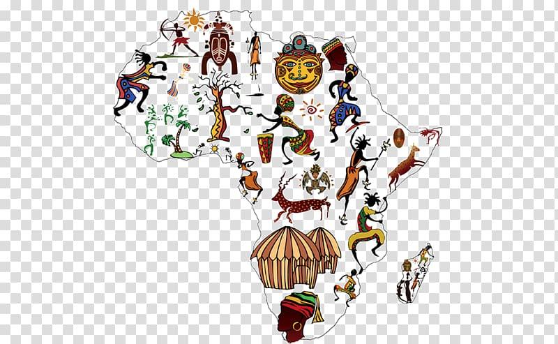 clip art freeuse download Cartoon map of transparent. Africa clipart creative