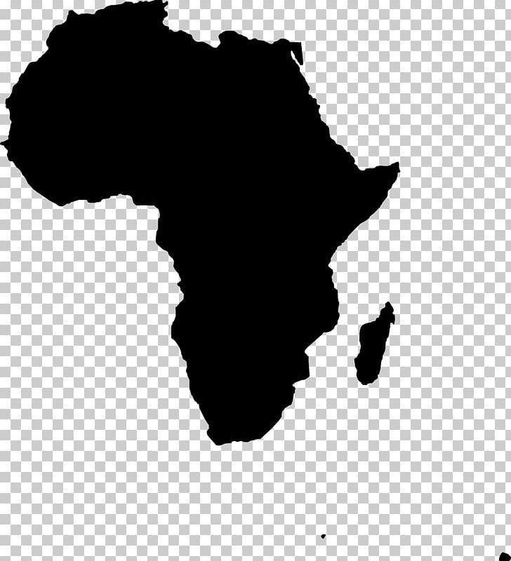banner black and white Png pattern black . Africa clipart map african