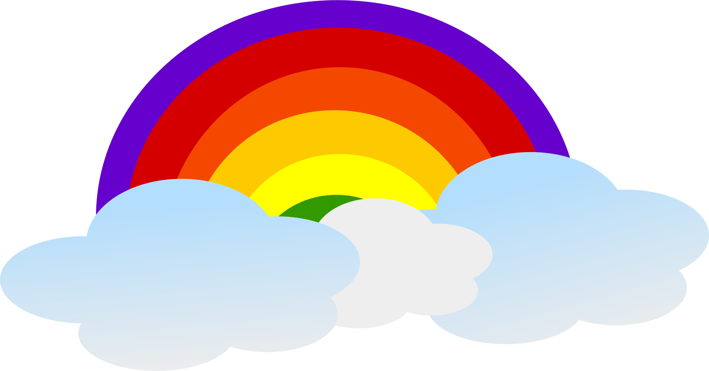 clipart black and white library Cloud clip art cute. Africa clipart rainbow