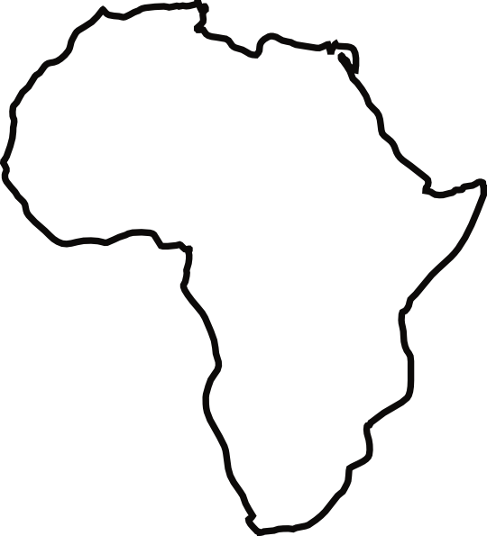 picture transparent African Continent Drawing at GetDrawings
