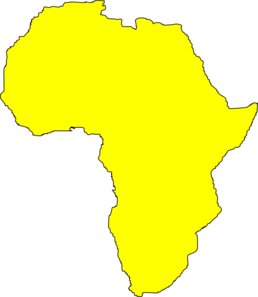 banner library Yellow Africa Clip Art at Clker
