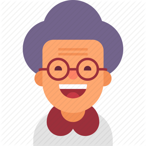 png library library Cool avatars by ruslan. African american grandmother clipart