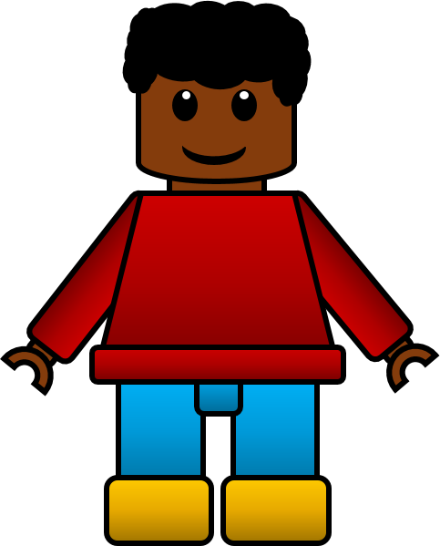 royalty free Yes clipart inspired. Lego kids commercial use