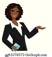 clip art library African american business women. Businesswoman clipart working lady.