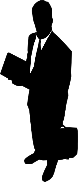clipart free stock Vector business buisness. Businessman silhouette at getdrawings