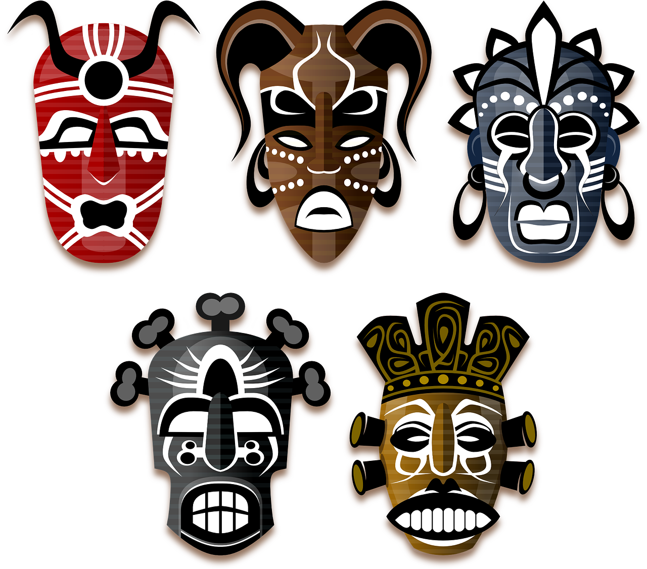 vector freeuse stock African clipart cultural. Free image on pixabay