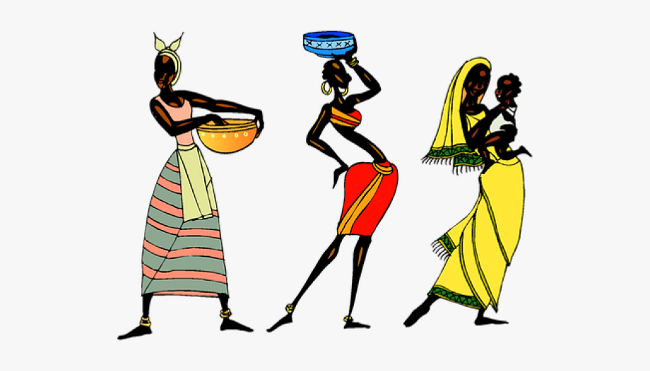 royalty free library American culture tribe . African clipart cultural