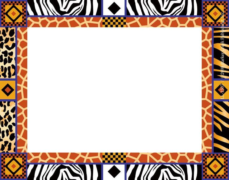 banner royalty free stock African clipart frame. Boarder transparent free .