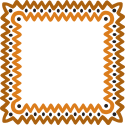 clip art library library Free graphics by josunshine. African clipart frame.