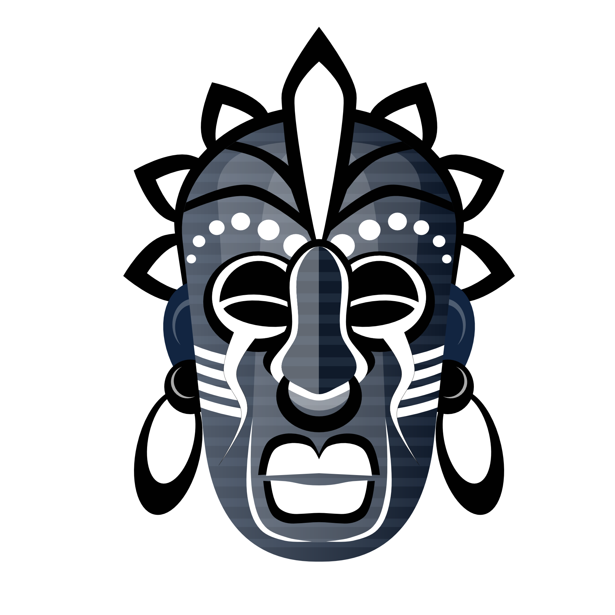 svg royalty free download Masks tribe mask pinterest. African clipart tribal