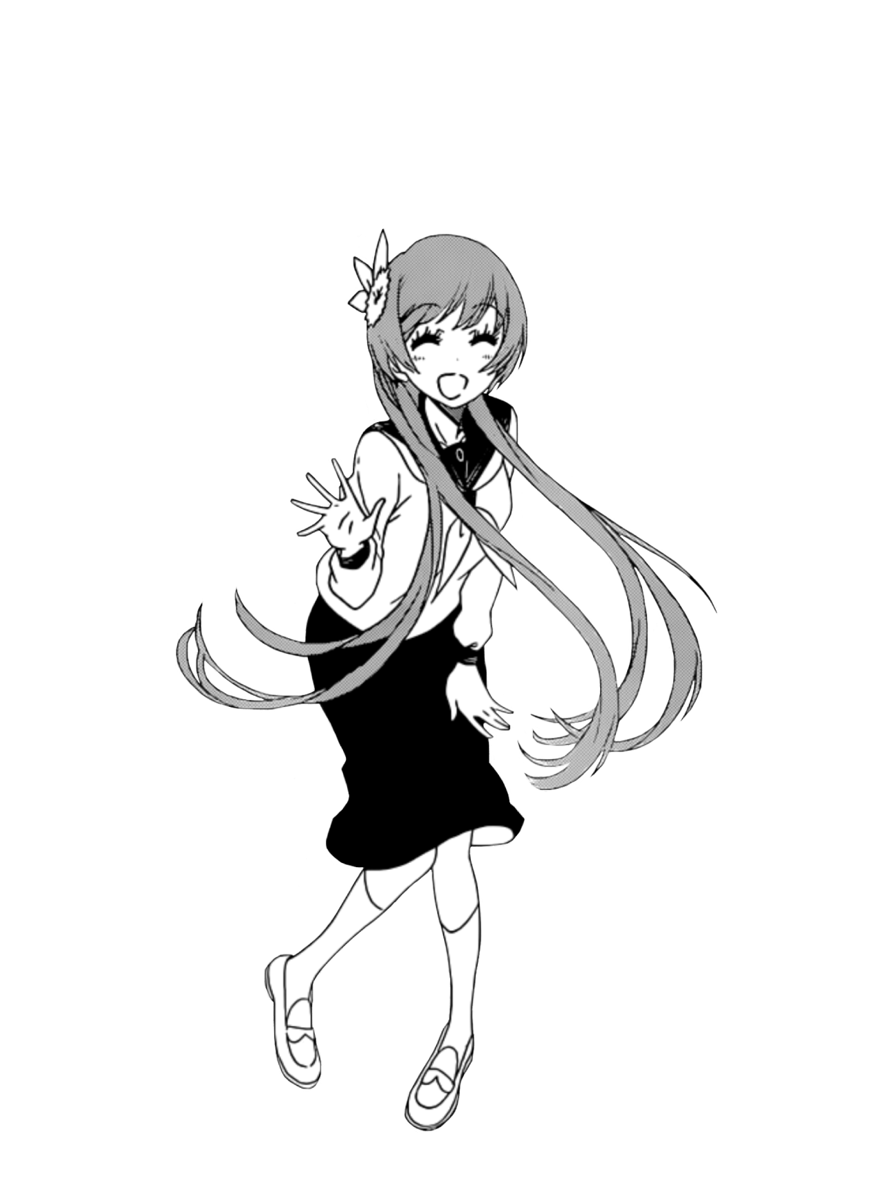 svg library Tachibana Marika manga transparent from Nisekoi