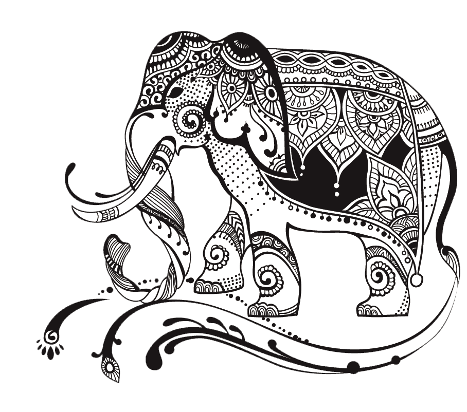 graphic library stock Egypt drawing elephant. Collection of free art