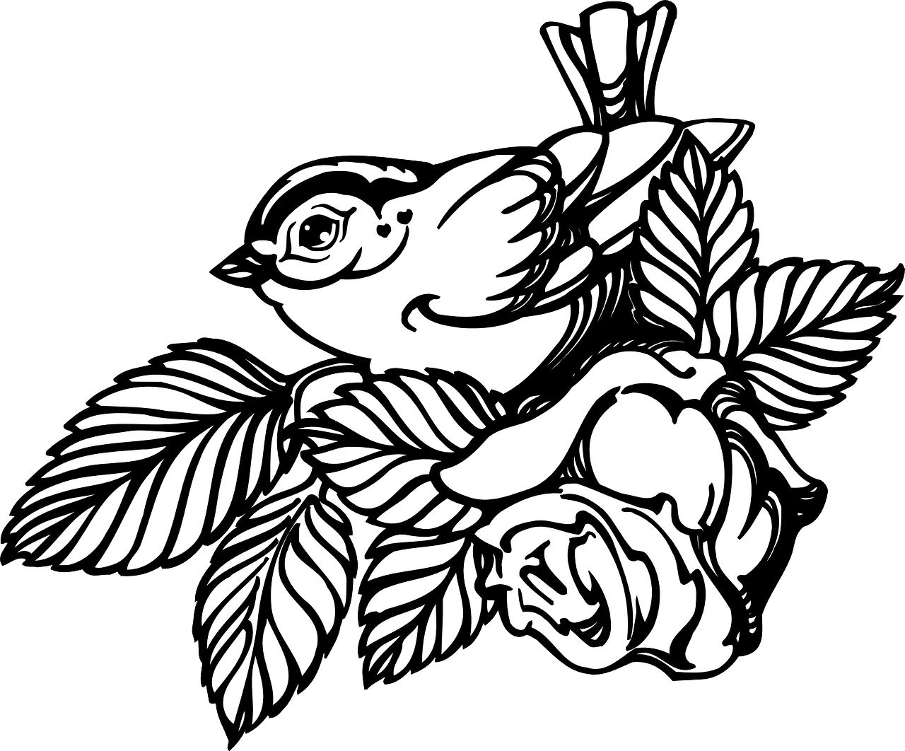 clipart stock Collection of free Branch drawing rose