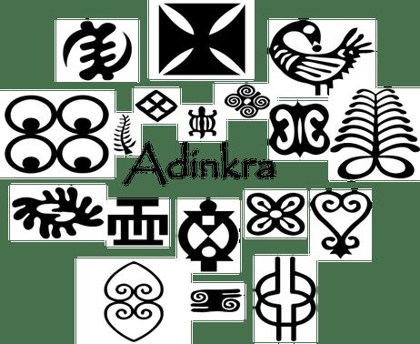 clip freeuse Adinkra Symbols