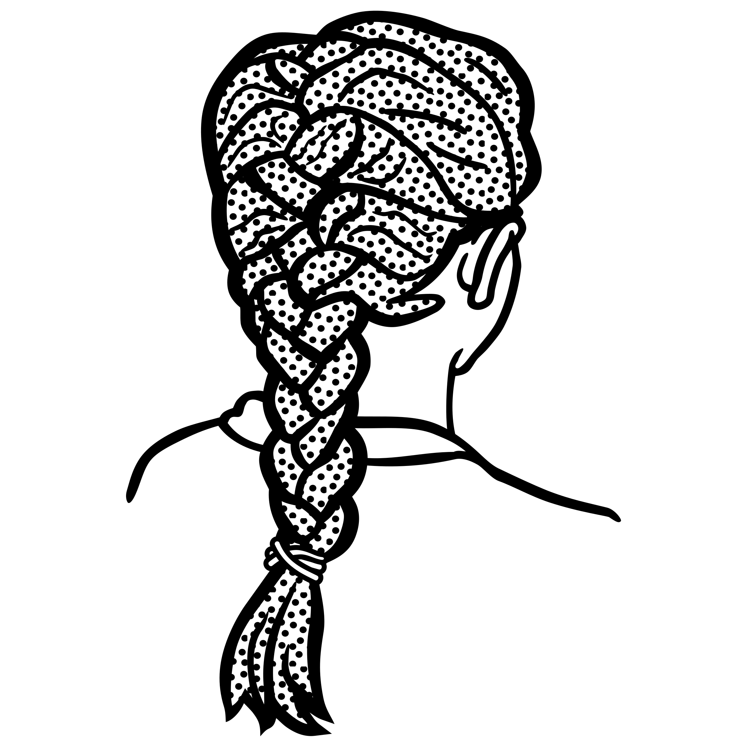 png library stock Braid Clipart big