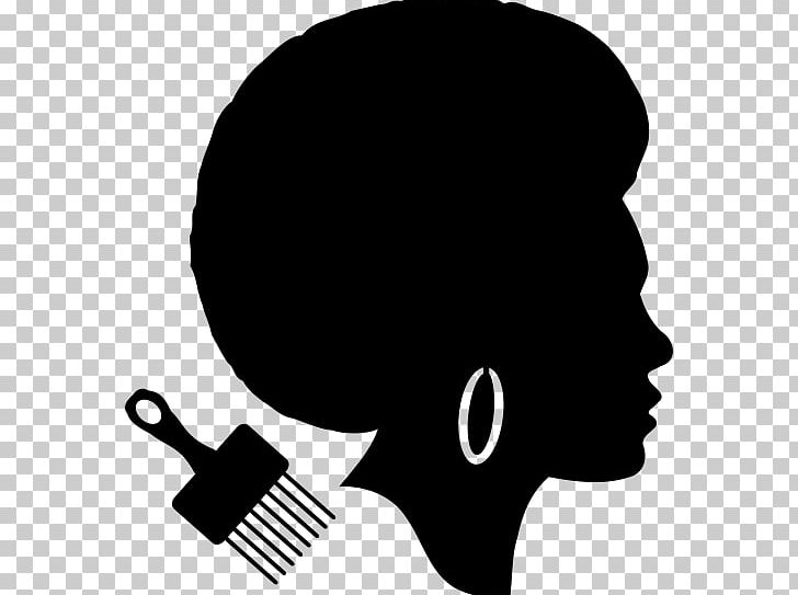 jpg freeuse African american silhouette png. Afro clipart male.