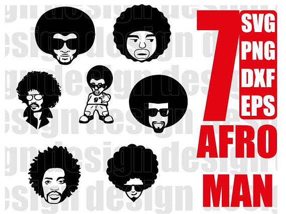 clipart library Afro clipart male. Funky transparent free for.