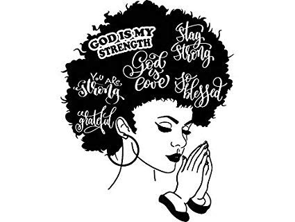 picture transparent download Black girl with drawing. Afro clipart sketch.