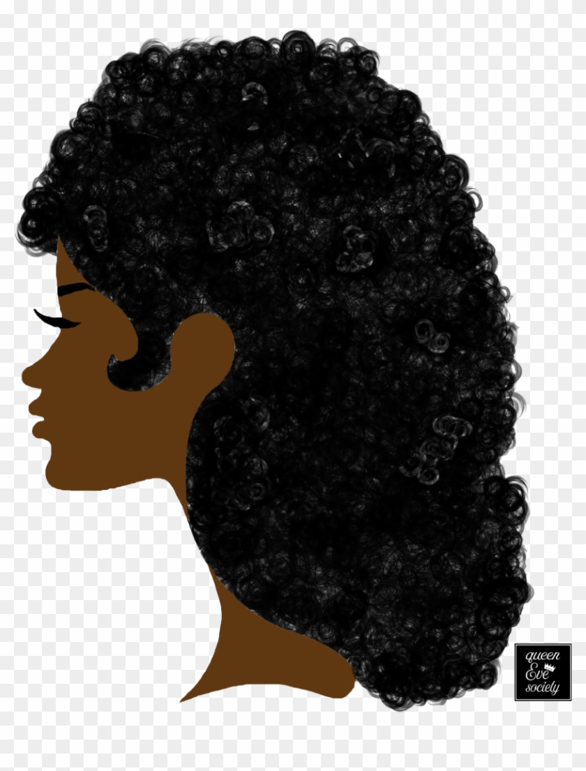 transparent library Afro transparent. Queenevesociety long hair silhouette