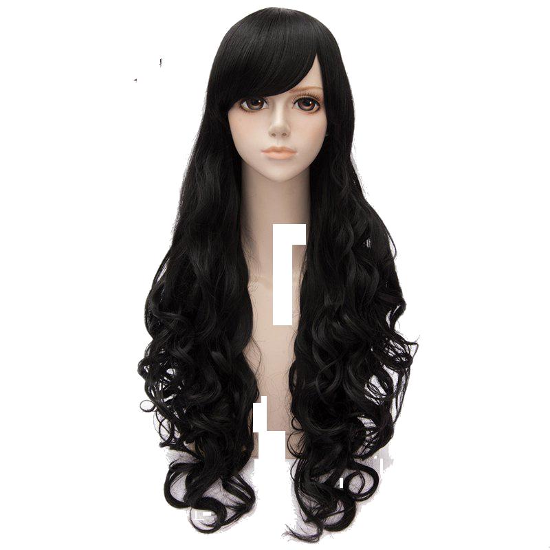 jpg free Black wig png