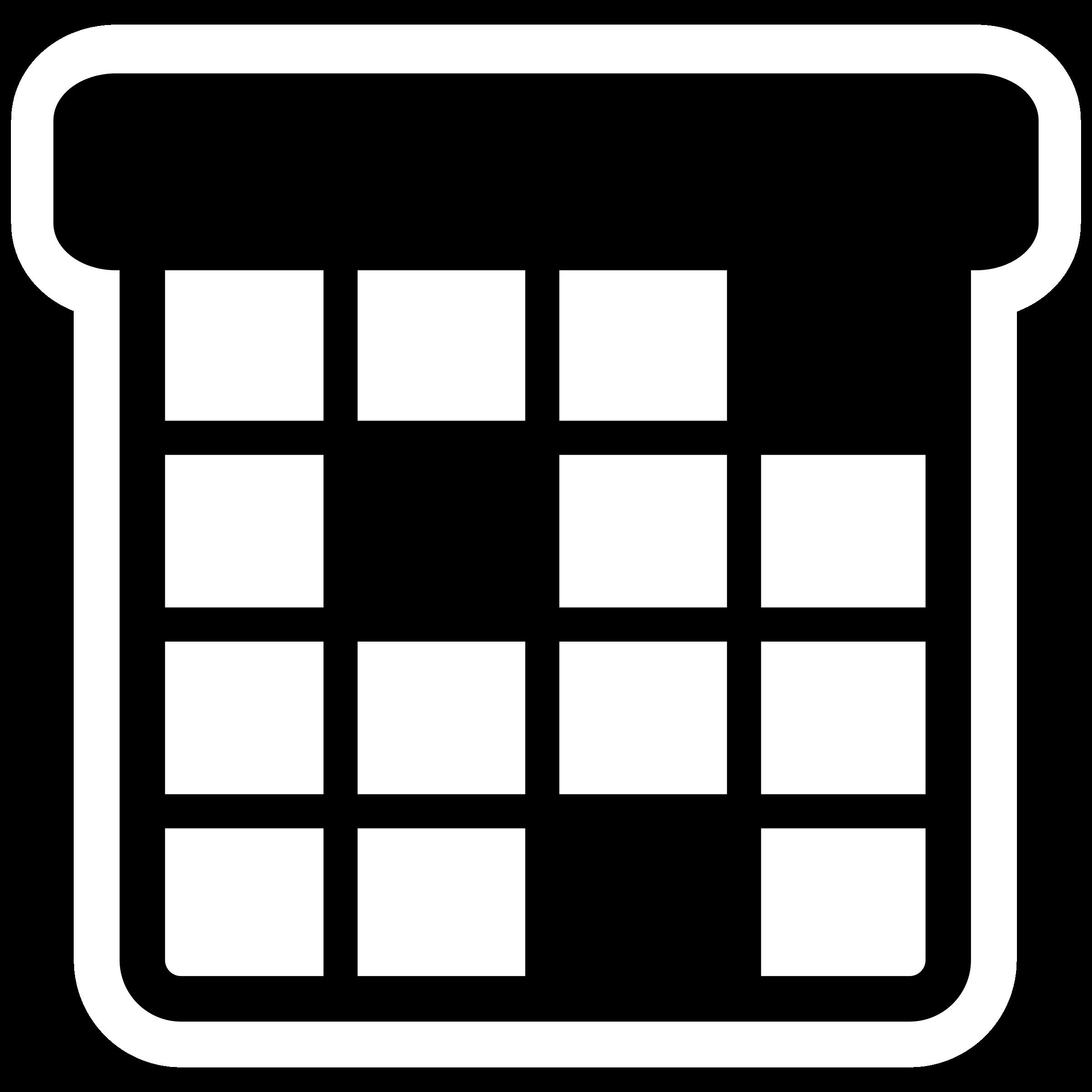 picture library Agenda clipart. Mono big image png