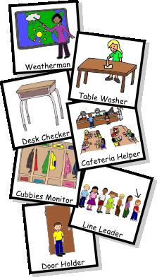 clip royalty free library Classroom jobs teaching preschool. Helper clipart cafeteria