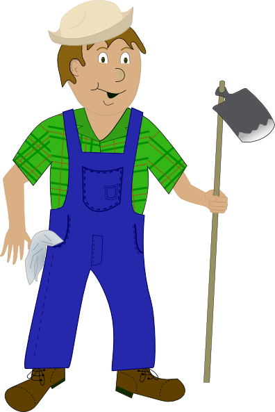 jpg stock Farmer Clip Art at Clker