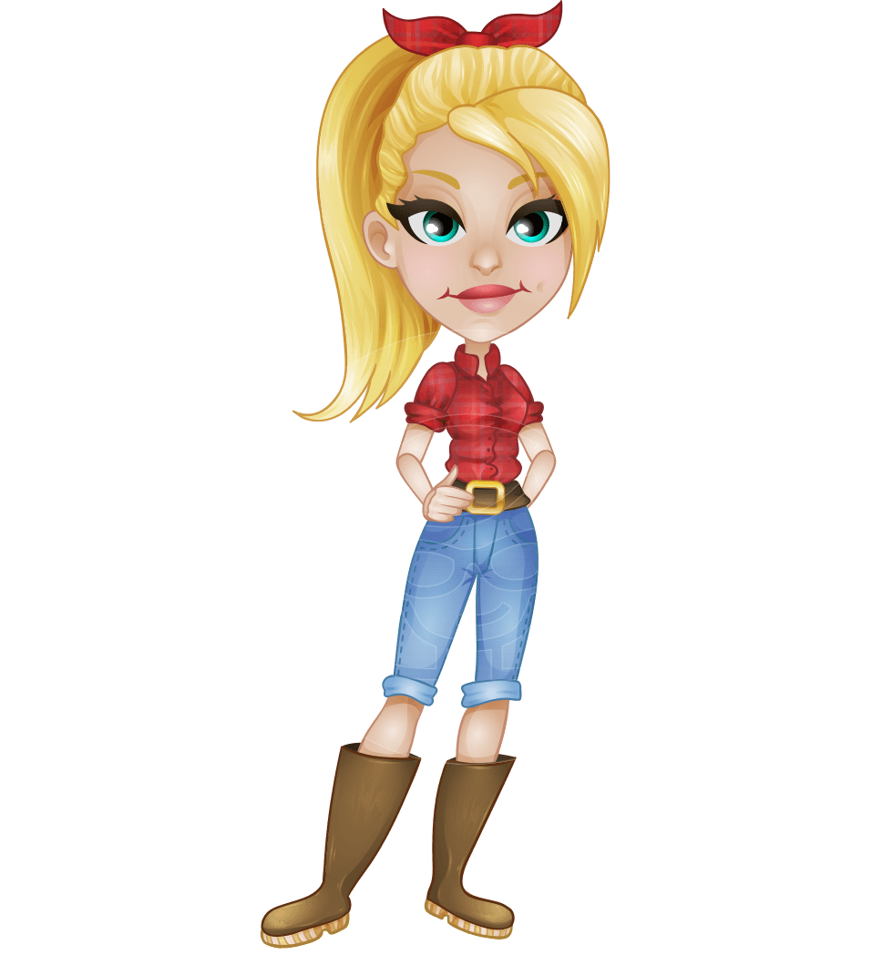 picture library Farming clipart woman farmer