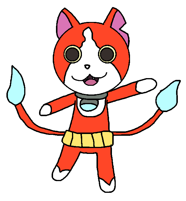 image free stock Jibanyan by Narlina