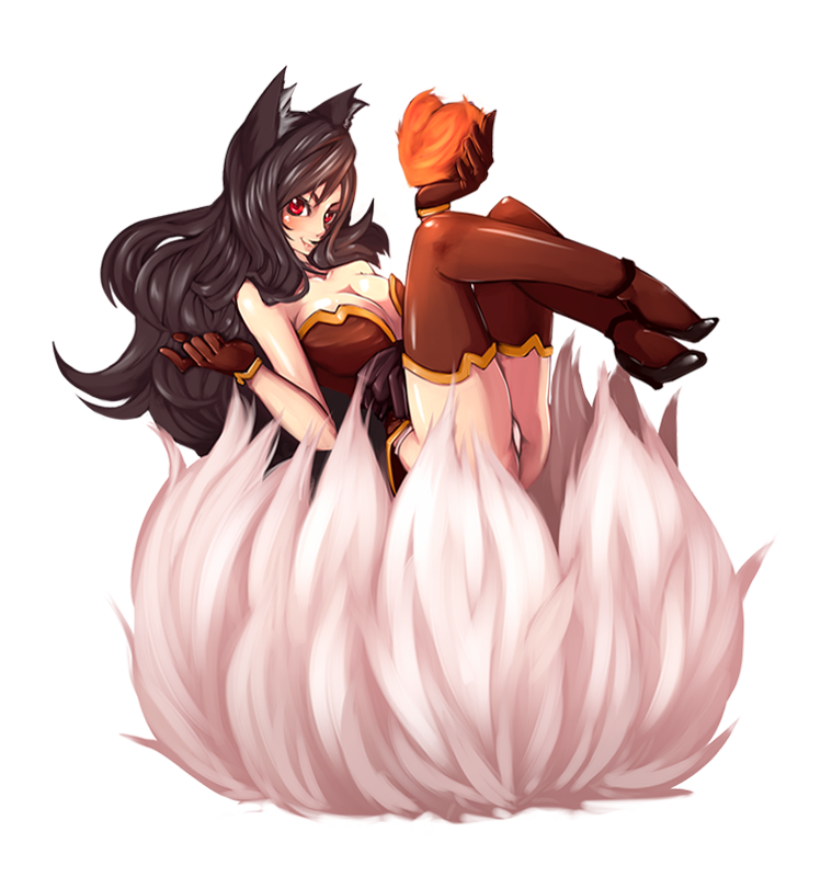 graphic transparent download Firefox Ahri by Rush