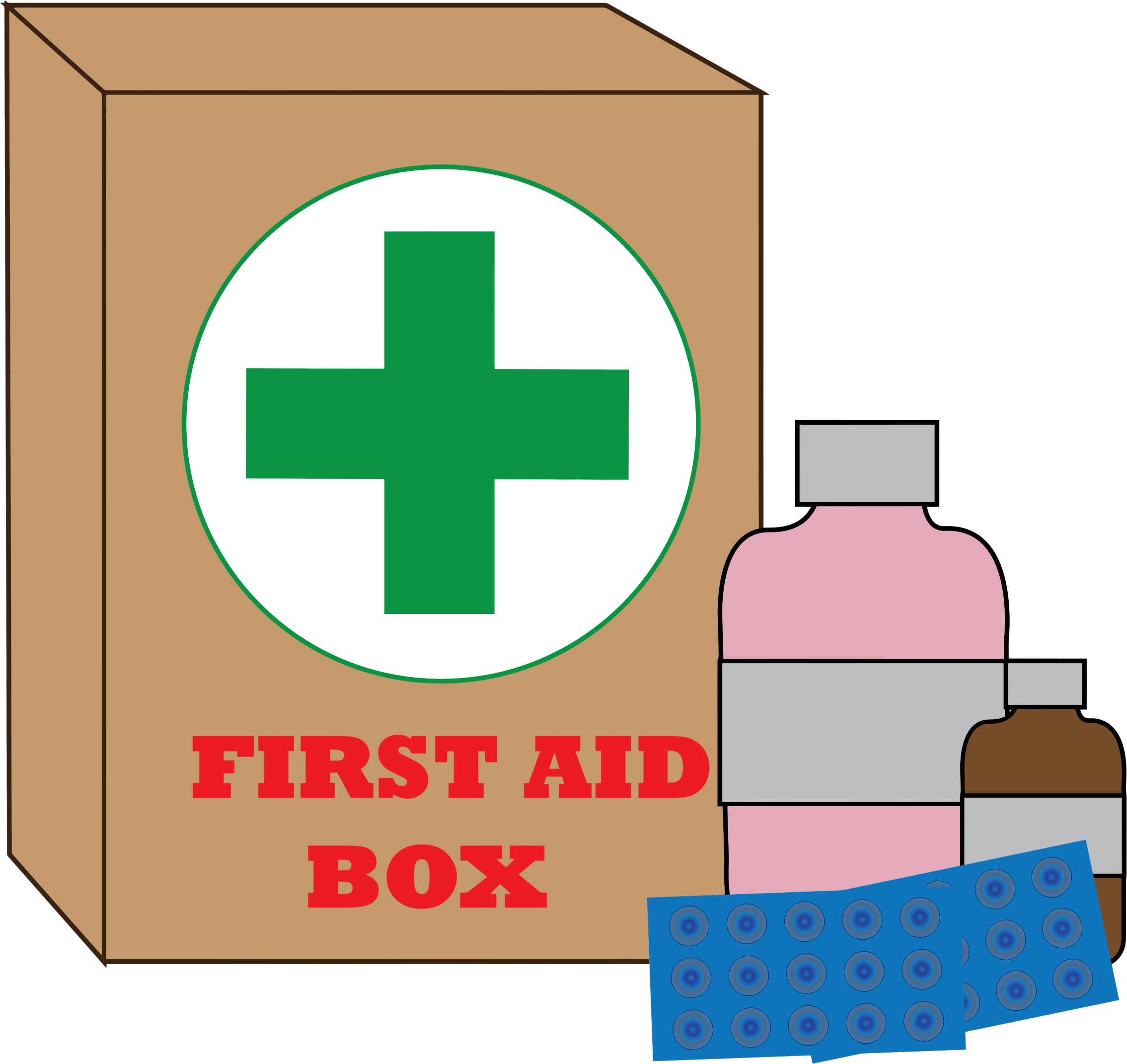 black and white library Big image png. First aid clipart.