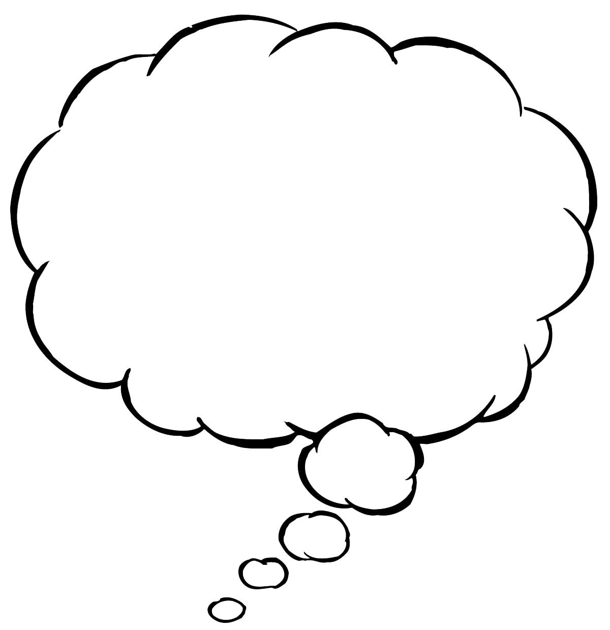 picture transparent library PNG Thought Bubble Transparent Thought Bubble