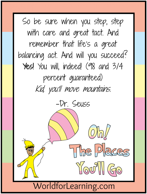 clipart royalty free stock Air clipart oh the places you ll go. Free printable when i.