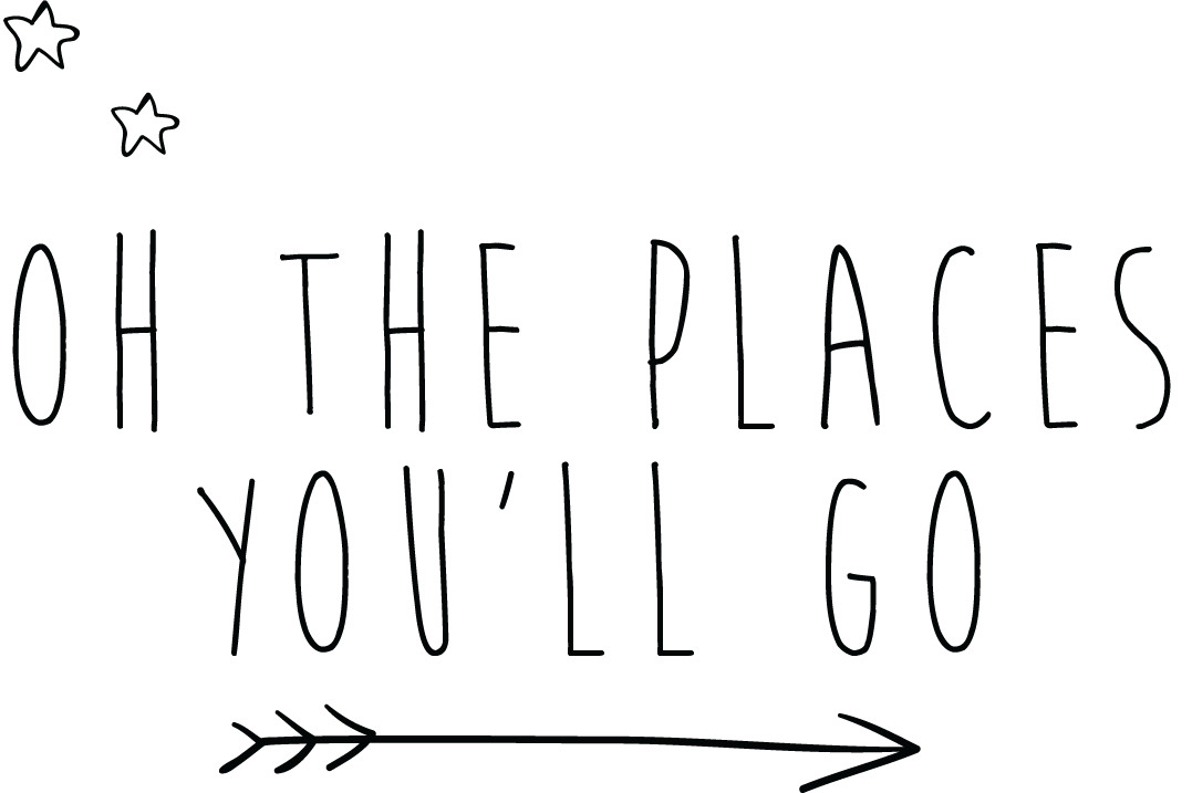 svg black and white library Air clipart oh the places you ll go. Wall decals elitflat decal.