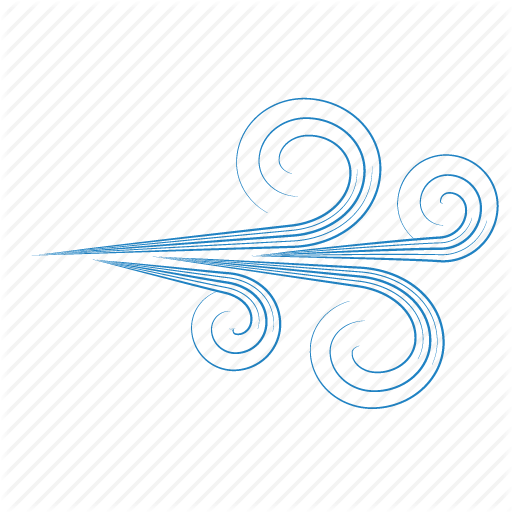 vector library Gust of drawing at. Transparent wind