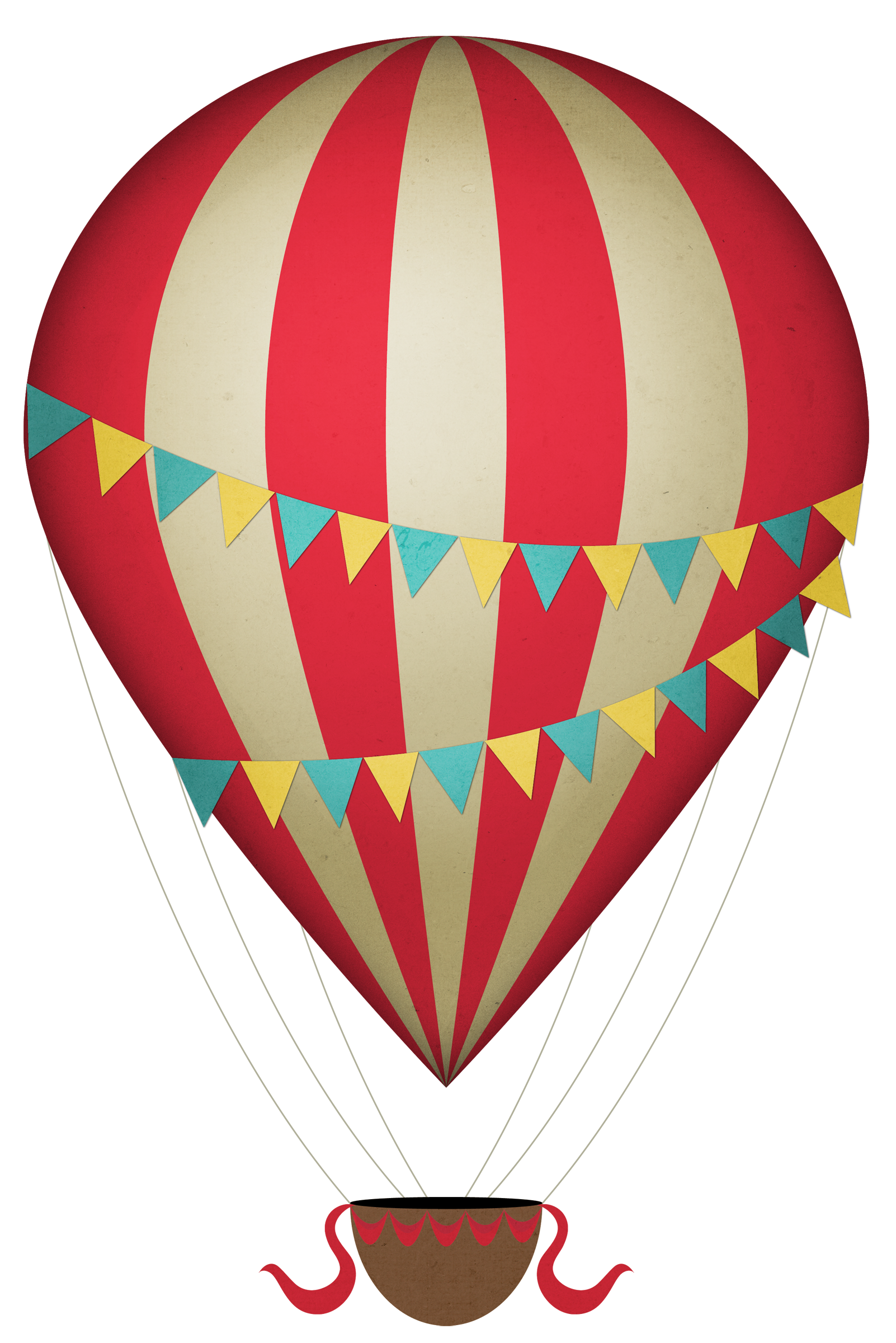 vector royalty free library Arcade clipart vintage carnival games. Hot air balloon transportations