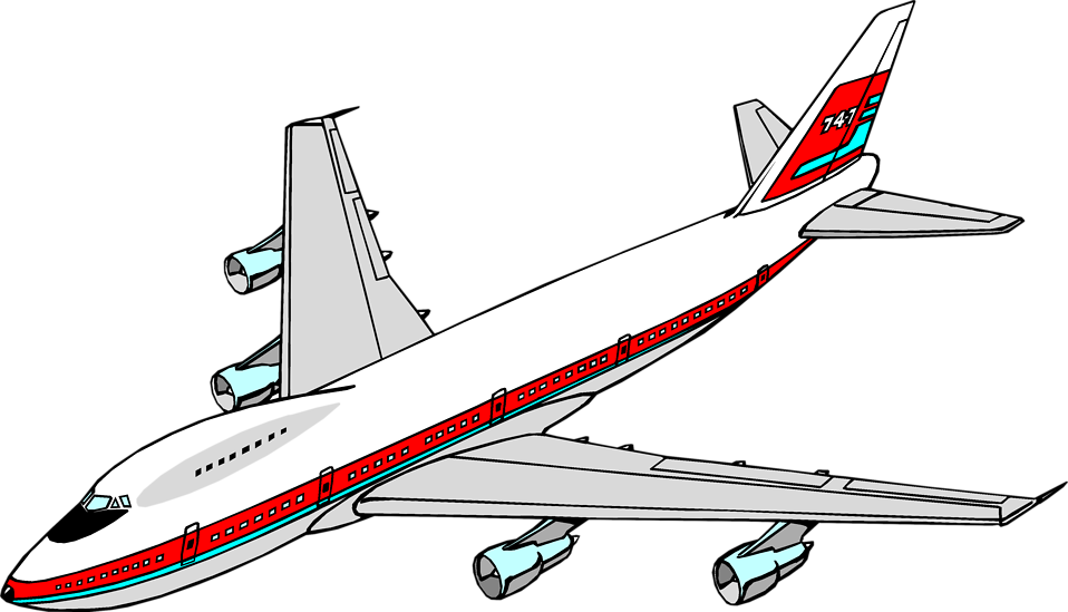 image free . Airplane clipart