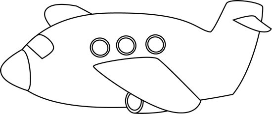black and white download Airplane clipart black and white. Clip art image