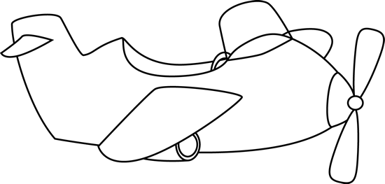 clipart black and white stock Airplane clipart black and white. Cute clip art
