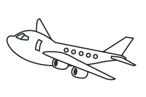vector black and white download Plane free on dumielauxepices. Airplane clipart black and white