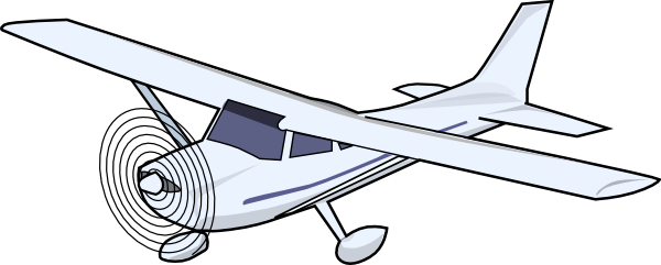 jpg royalty free stock Vector aviation small airplane. Aircraft plane clip art