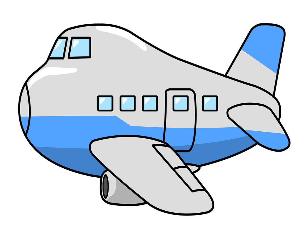 jpg stock Airplane clipart template. Cartoon png free download.