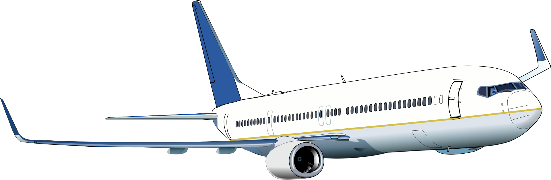 jpg library download Boeing transparent background png. Vector aviation perth