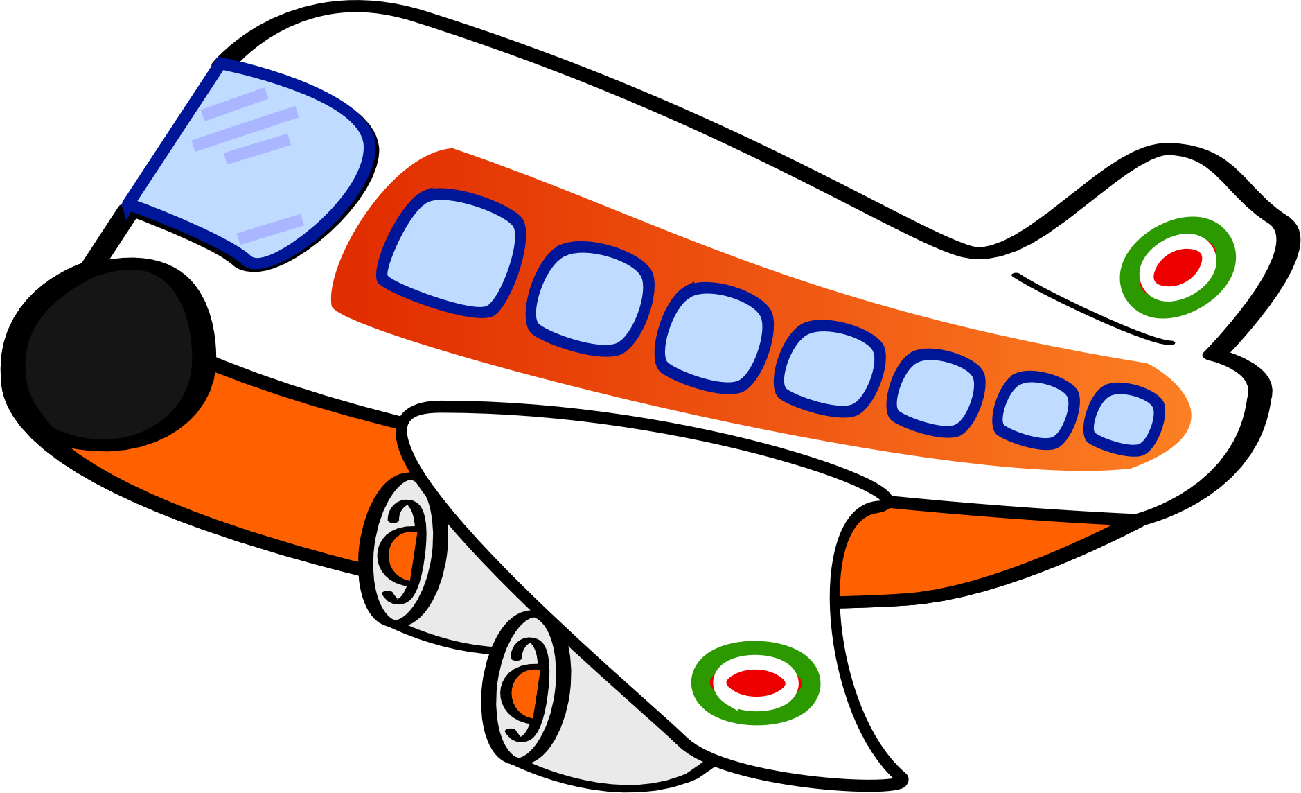 clip art download Airplane passenger clipart. Funny one big image