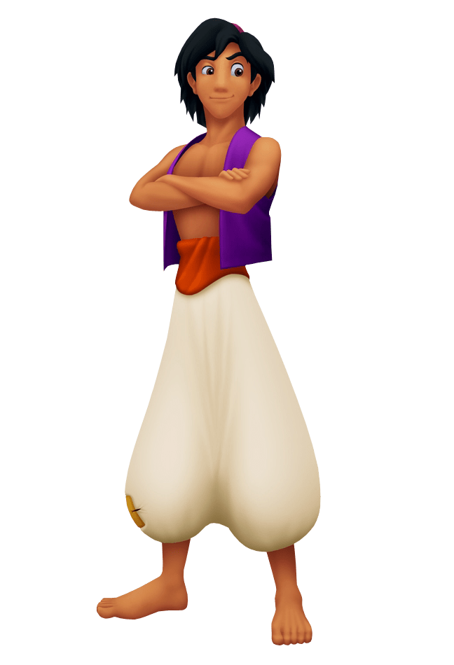 banner library Aladdin Arms Crossed transparent PNG