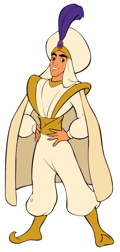 free library Aladdin As Prince Ali transparent PNG